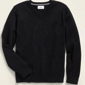 Old Navy Boys V-neck Sweater